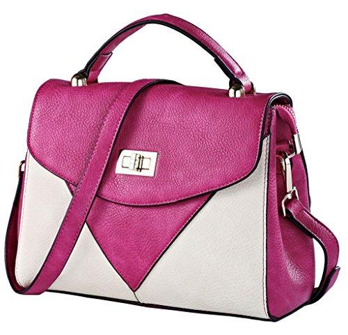 ROYAL WIND - Bolsa Mujer Blanco - Pink+White