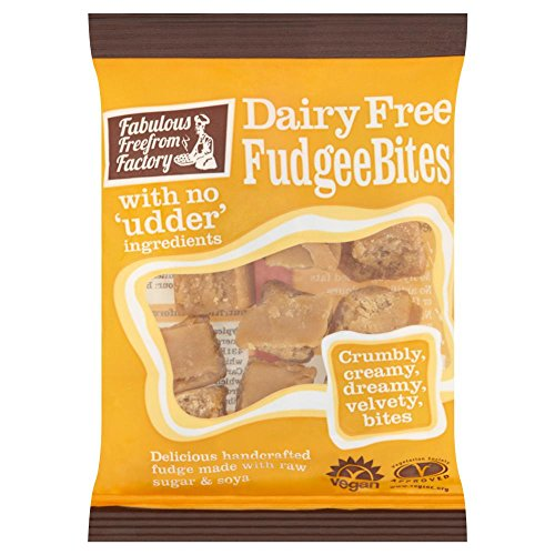 Fabulous Free From Factory Dairy Free Vegan Fudge Bites 75g
