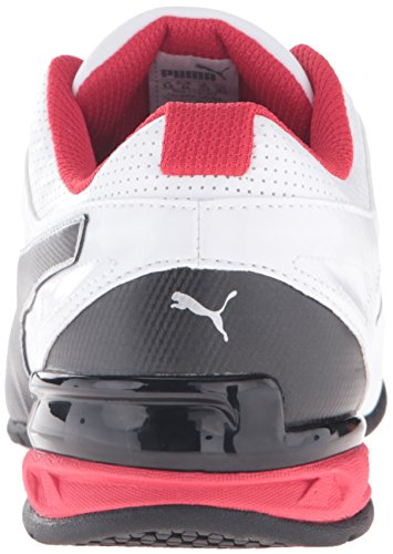 PUMA Men's Tazon 6 FM Puma White/ Puma Black/ Puma Silver Running Shoe - 7.5 2E US by PUMA (Image #2)