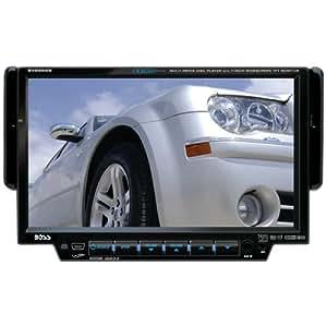 BOSS BV8966B sintonizador de CD/DVD para el coche - Radio para coche (MP3, WMA, AM, FM, 1-Bit, 1440 x 234 Pixeles, Negro, SD)