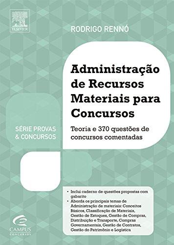 Série Provas & Concursos - Administração de Recursos Materiais para Concursos