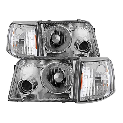 (Carpart4u for 93-97 Ranger Projector Headlights With Corner Lights )