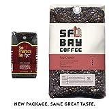 SF Bay Coffee Fog Chaser Whole Bean 2LB (32 Ounce) Medium Dark Roast (Packaging May Vary)
