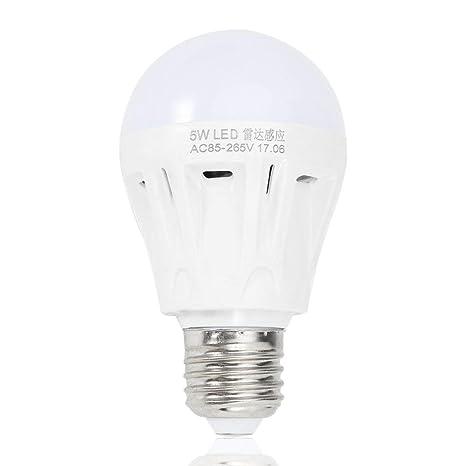 E27 LED Radar de microondas Sensor de movimiento Ambiente Lámpara ...