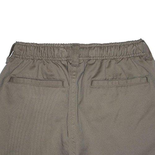 Daniel Jacob Big Boys Husky Classic Twill Pants 1//2 Elastic
