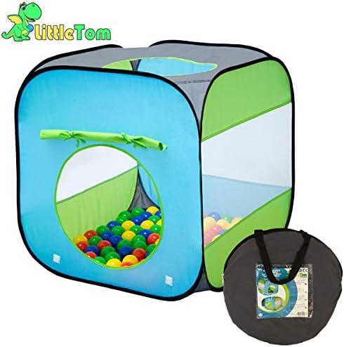 LittleTom Tienda de campaña Juguete para niños 70x70x72cm Piscina ...