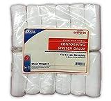 Dukal Conforming Stretch Gauze 12-Rolls 4-Inchx4.1yds, 1-Bag