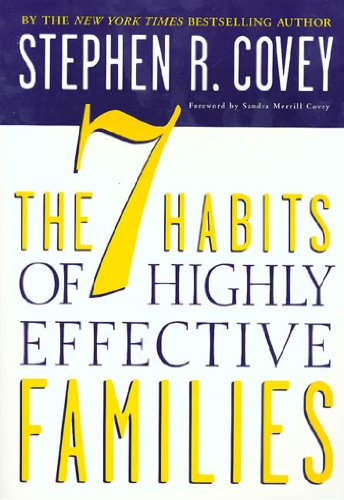 The 7 Habits Of Highly Effective Families Building A Beautiful