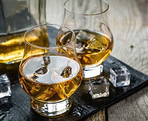 Whisky Tasting vidrio con diamante esmerilado-original glencairn cristal Escocia