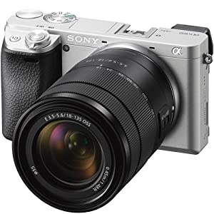Sony ILCE-6300M/B a6300 4K Mirrorless Camera (Black) with 18-135mm F3.5-5.6 OSS Zoom Lens and Case 64GB SDXC Memory Card Pro Photography Bundle from Sony