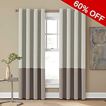 eclipse tan curtains n compressed depot the home window blackout curtain panel bobbi b drapes treatments grommet