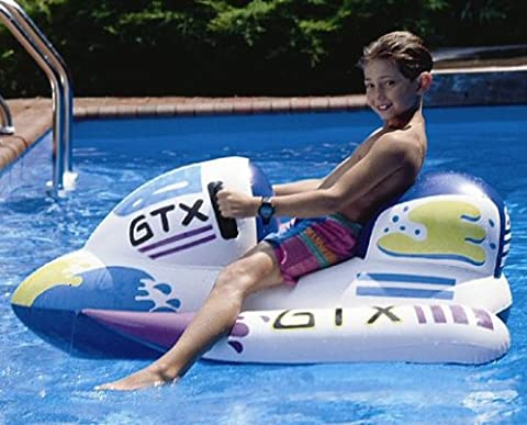 Kid Inflatable Jet Ski Floating Pool Ride On Toy - Inflatable Jet Ski