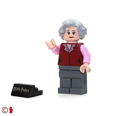 LEGO 2020 Harry Potter Minifigure - The Trolley Witch (with Display Stand) 75955: Toys & Games