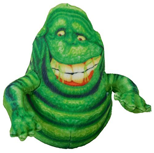 Ghostbusters 14cm Smiley Slimer Plush Figure - Ghostbusters Soft Toy