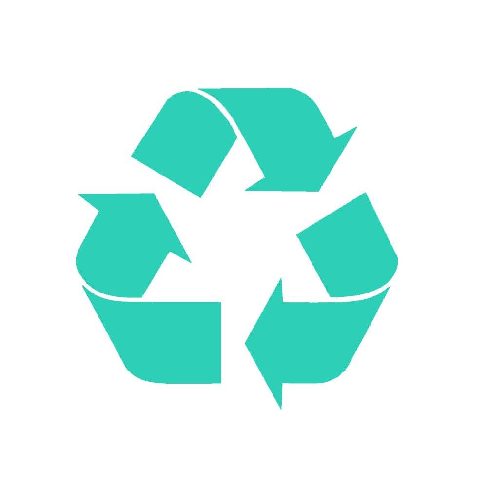 リサイクルシンボルv1ビニールデカールby stickerdad – サイズ: 5インチ、カラー:ターコイズ – Windows、壁、バンパー、ノートパソコン、ロッカー、など。 B0792D94XY