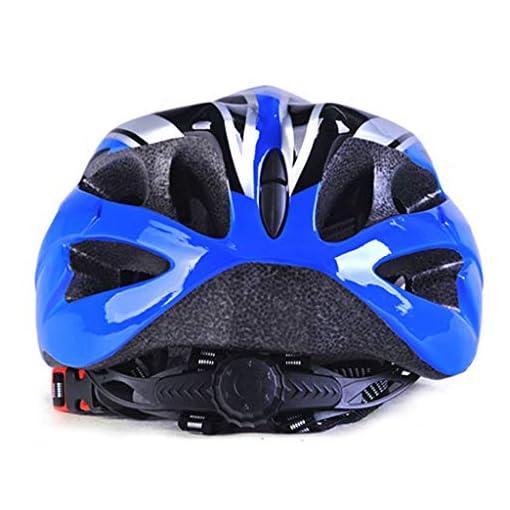 Gulang-keng Casque de vélo 18 aérations de sécurité léger réglable et respirant pour skateboard scooter Hoverboard vélo Casque de vélo avec visière amovible