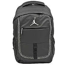 Nike Air Jordan Black Laptop Backpack Bag for Men, Women and Boys 9A1685-023