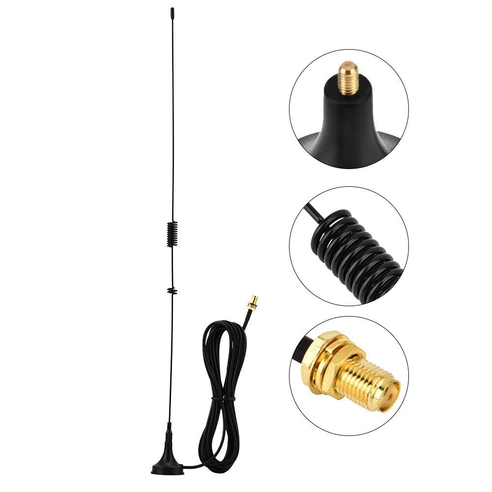 Antenne magn/étique pour voiture UHF VHF SMA-Famale avec c/âble de 3 m/ètres adapt/é pour Kenwood Baofeng HYT PUXING TYT WOXUN Antenne pour autoradio