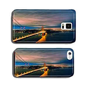 panoramic view of Golden Gate Bridge by night cell phone cover case iPhone6 Plus