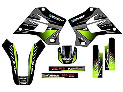 Amazon.com: Senge Graphics 1995-2008 Kawasaki KDX 200/220 ...