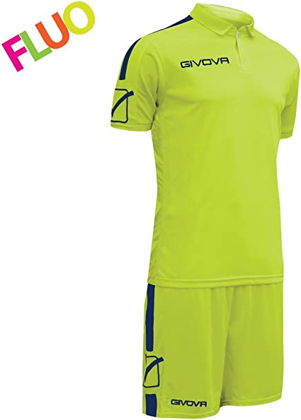 TALLA L. Givova Play Kit Fútbol, Unisex Adulto