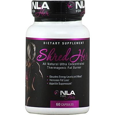 SHRED HER: Natural Fat Burner, 60 capsules