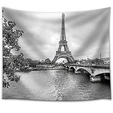 Stunning Piece Paris Eiffel Tower Fr Tapestry Wall26