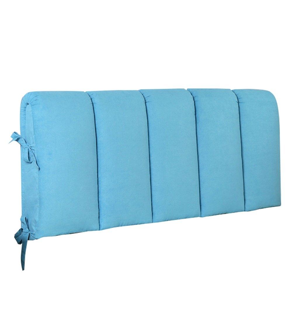 抱き枕 枕の背中のクッションは、本の枕として使用することができます枕の腰のクッションの首の枕の背もたれベッドソファのぬいぐるみ枕(青) (サイズ さいず : 180×8×60cm) 180×8×60cm  B07FLPHYJ7