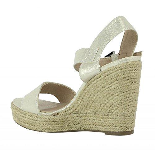 Schuhe keilabsatz für Damen REFRESH 61772 METLZ ORO