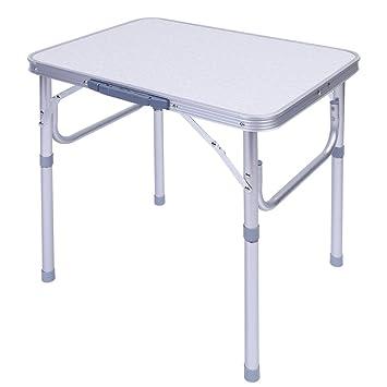 Zerone Table de Camping Pliante en Aluminium, Table Pliable ...