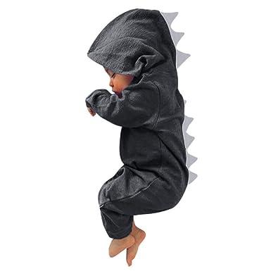 Moverv - Disfraz de dinosaurio para niños, abrigo para recién ...