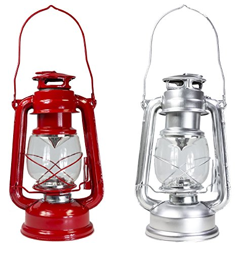 dimmable 15 led lightweight hurricane lantern lamp light choice