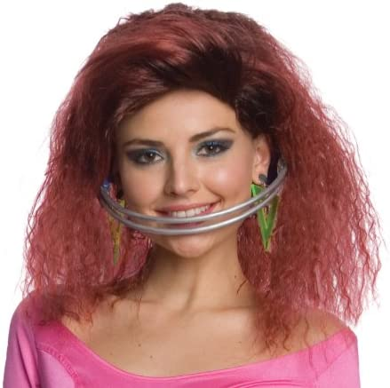 Musical Artist Katy Perry Last Friday Night Costume Wig & Braces Set Adult One Size: Amazon.es: Juguetes y juegos