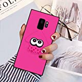 Squid Splatoon Pink Phone Case Fit for Samsung Galaxy S9 (2018) 5.8'