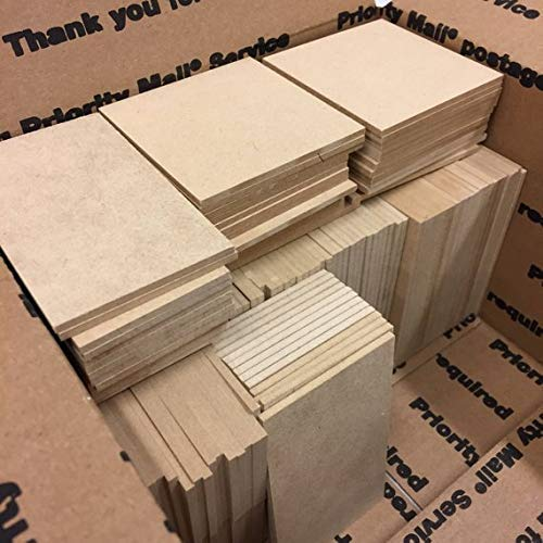 On sale 3MM MDF off-cuts – Large FR Box – perfect or lasers or crafting