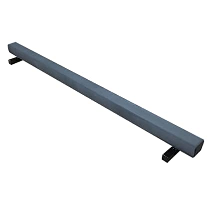 amazon com the beam store 8 feet low profile suede balance beam