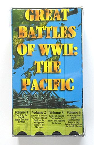 Great Battles Of Ww2 Pacific  Vhs