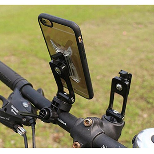 Bicycle Phone Mount >> Jerrymart Professional Bicycle Phone Mount Holder Universal 2 In 1 Bike Handlebar Stem Cap Mount