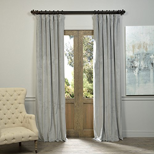velvet thermal curtains - 4