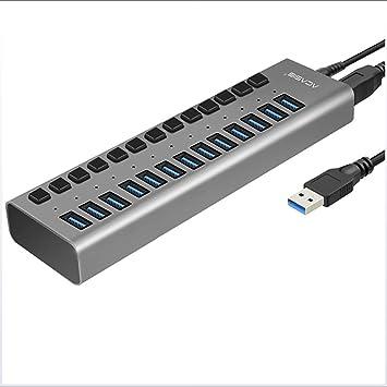HAJZF Concentradores USB C, Concentrador de múltiples ...