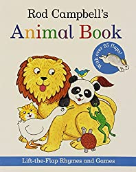 Rod Campbell's Animal Book: Lift-the-Flap Rhymes and Games