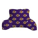 """Pegasus Sports NBA PLUSH BACK REST- Los Angeles Lakers, Purple, 22x17x5"""""""