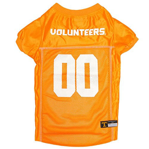 Pets First Collegiate Tennessee Volunteers Dog Mesh Jersey, X-Large
