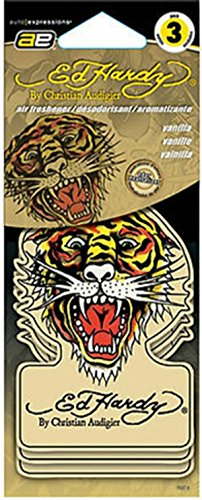 Ed Hardy Air Fresheners - Vanilla Ed Hardy Air Freshener - Single