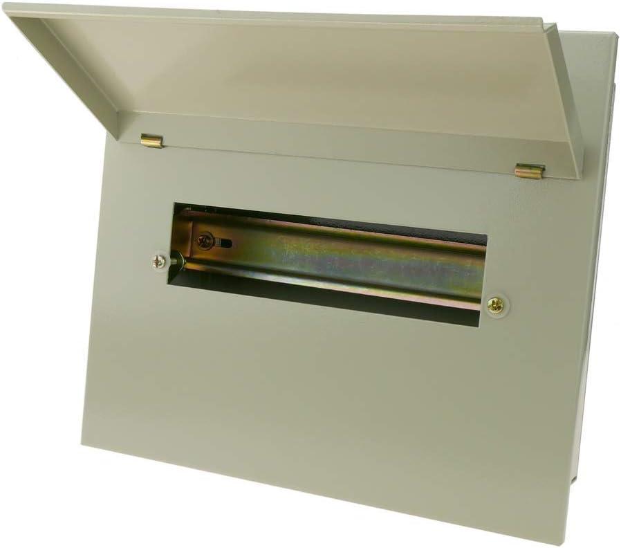 BeMatik - Caja de distribución eléctrica de 10 módulos 18mm IP40 ...