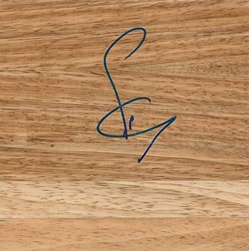 Sonny Weems Signed 6x6 Floorboard Bulls Nuggets Arkansas - Autographed NBA Floor Boards ()