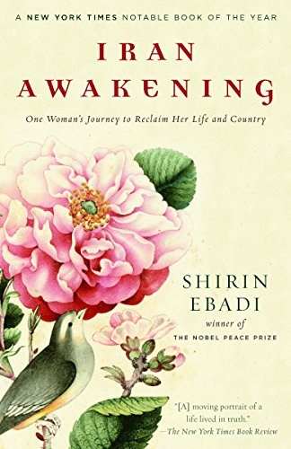 Iran Awakening: A Memoir of Revolution and Hope cover