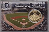 Detroit Tigers Comerica Park Coin Postcard Set fully licensed