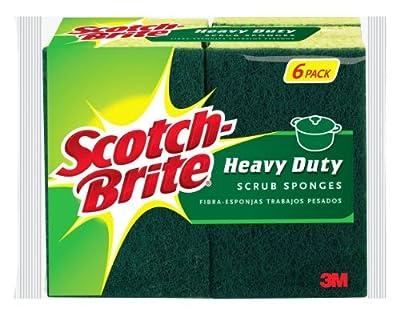 3m 6 Count Scotch-Brite® Heavy Duty Scrub Sponge 426