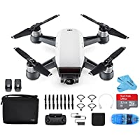 DJI Spark Drone Mini Quadcopter Fly More Combo (Alpine White)